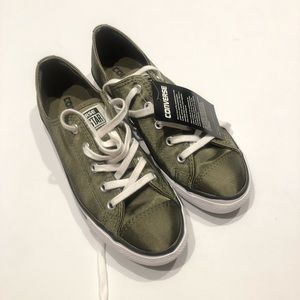 ☃️ Converse green satin new 7